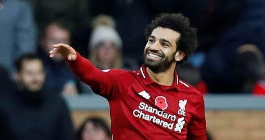 صلاح يتوج بجائزة أفضل لاعب افريقي