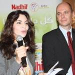 Nadhif donne 5% de ses ventes pour les enfants malades