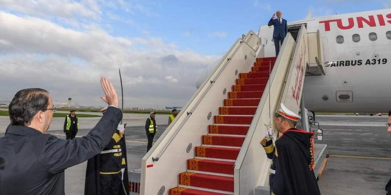Photo du jour : Bon voyage Président !