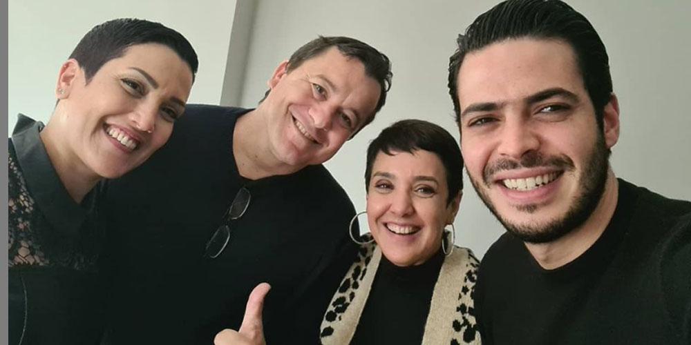 بالصورة..سامي الفهري يعود إلى قناة الحوار التونسي بعد السجن