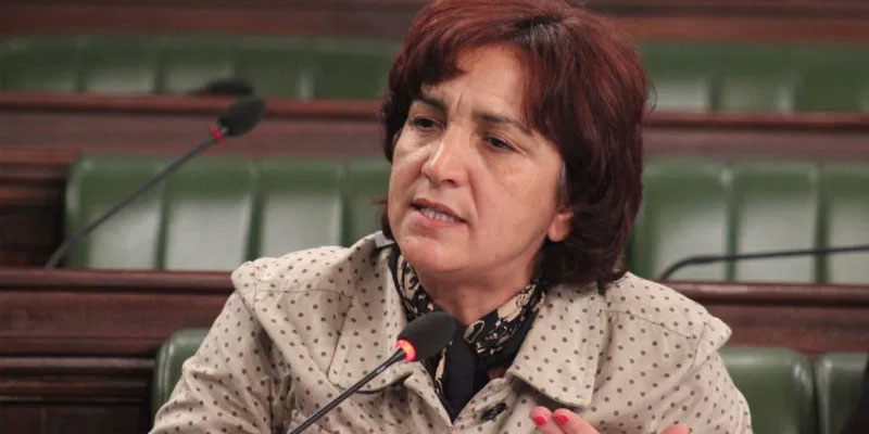 سامية عبو ''علاقتي بالغنوشي متوترة ''