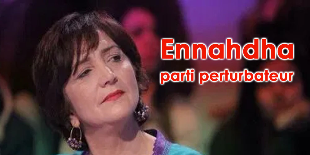 Samia Abbou : Ennahdha devient un élément perturbateur