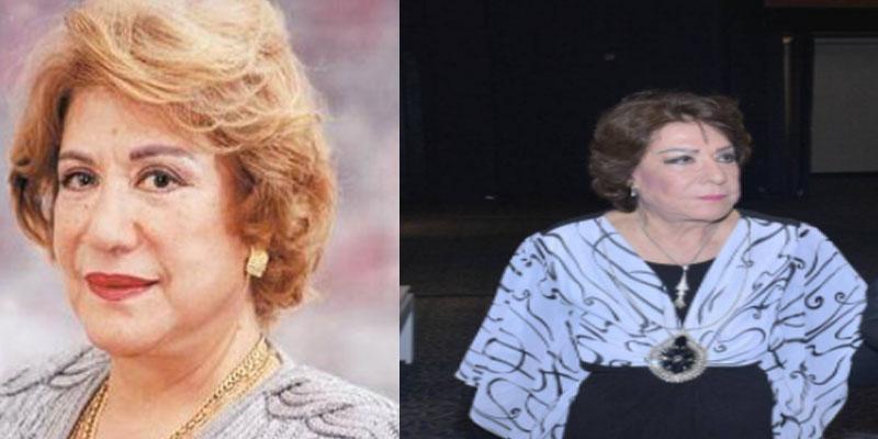 هكذا بدت الممثلة القديرة سميحة أيوب بعد سنوات طويلة من الغياب