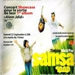 Le 22 Septembre : Samsa en concert à Paris