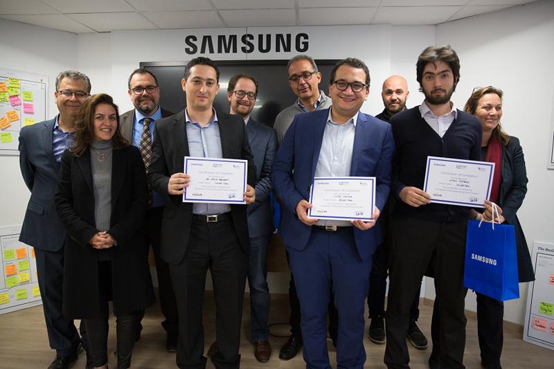 Clôture de la Session 2017-2018 du Samsung Fast Track