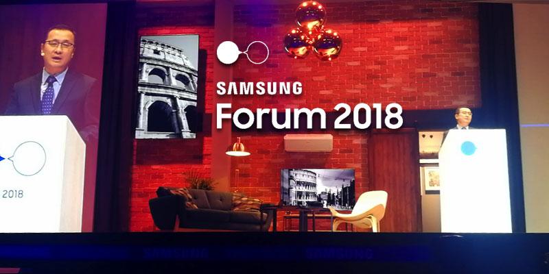 En vidéo : L'expérience IoT au cœur de la 8ème édition du Samsung Mena Forum