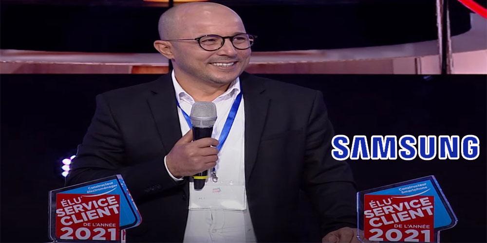 Samsung Electronics Tunisie élu Service Client De l'Année 2021 dans deux catégories