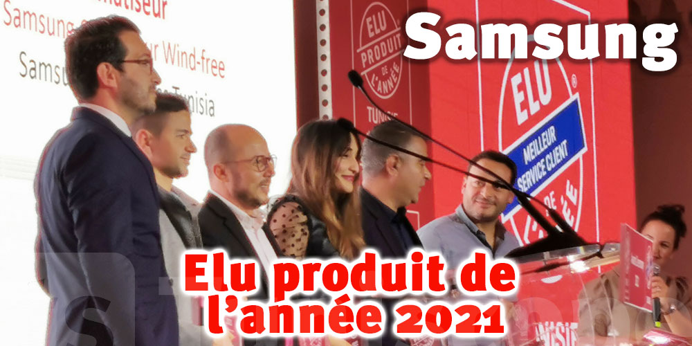 En vidéo : Samsung rafle 6 prix dont élu Produit de l'année et Meilleur service client 2021
