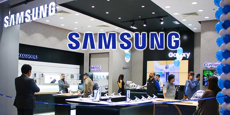 En vidéo : Tout sur le nouveau brand shop de Samsung au centre Azur City