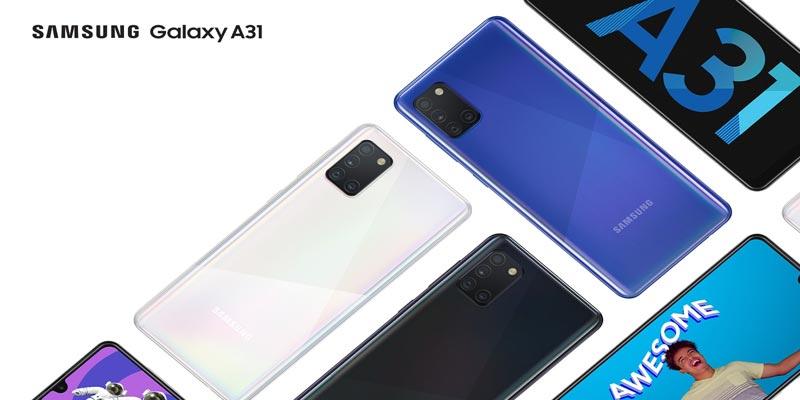 Samsung présente son nouveau Galaxy A31 : le smartphone qui embellit le quotidien !