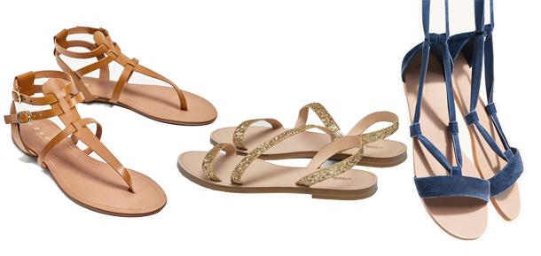 En photos : 6 paires de sandales plates à shopper pour cet été…