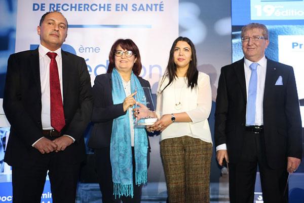 Zied Hajjaj lauréat du 19ème édition du Prix Sanofi de recherche en santé