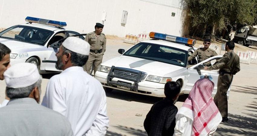 رجل أمن سعودي يفتح النار على زملائه