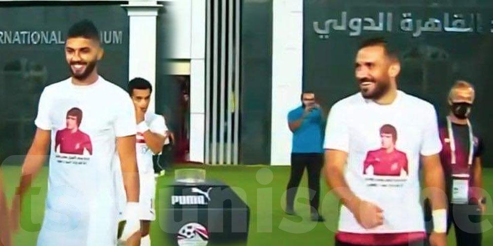حمادي العقربي حاضر في الدربي المصري