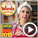 En vidéo : Les produits Warda présents au 2ème atelier découverte des saveurs de l'année 2015