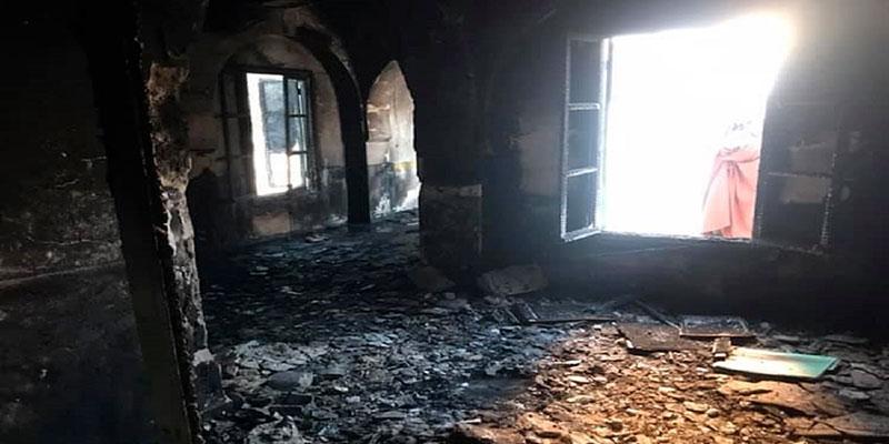 La piste terroriste privilégiée dans l'affaire de la mosquée incendiée à Sbeïtla