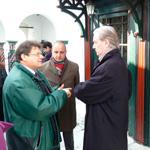 L'ambassadeur de France octroie 10 mille dinars pour la restauration du mausolée de Sidi Bou Saïd