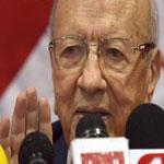 السبسي:الانتخابات القادمة ستفرز نتائج 23 أكتوبر 2011