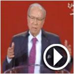 فيديو..الباجي قائد السبسي هناك محاولة لزعزعة استقرار نداء تونس
