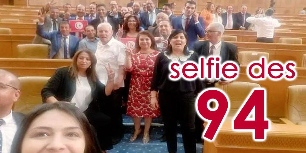 Le selfie des quatre-vingt-quatorze