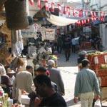Les commerçants de Souk Jabli à Sfax protestent contre les étalages anarchiques