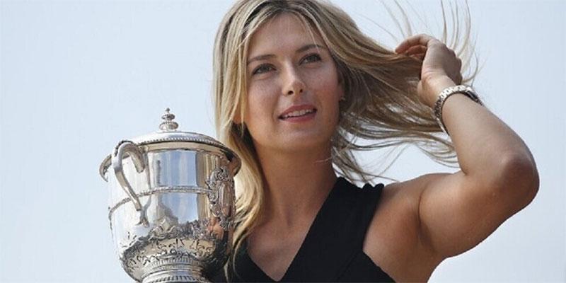ماريا شارابوفا تعلن اعتزالها التنس