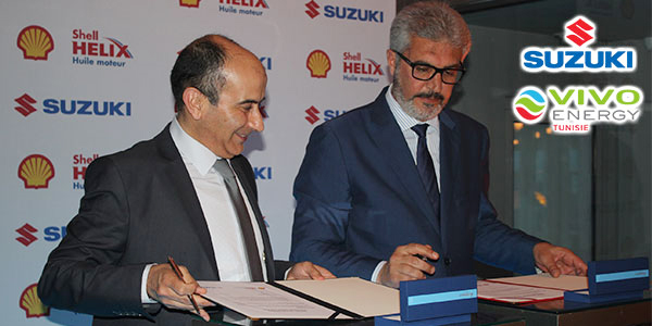 En photos : Shell Helix exclusif au service après-vente de Suzuki en Tunisie