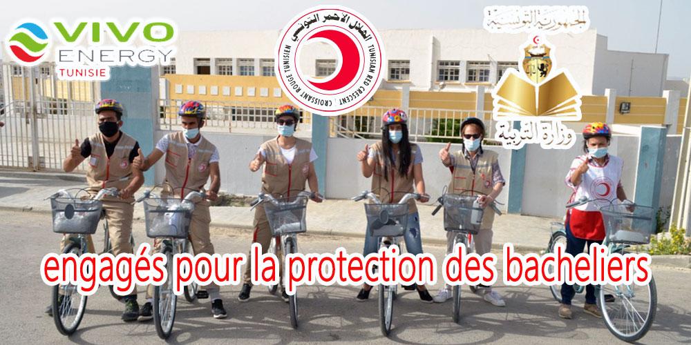 Vivo Energy Tunisie et le Croissant Rouge Tunisien engagés pour la protection des bacheliers