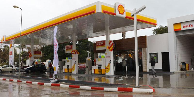 En photos : L'une des plus anciennes stations-service Shell de Tunisie fait peau neuve