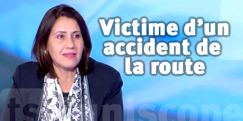 La ministre Asma Shiri victime d'un accident de la route