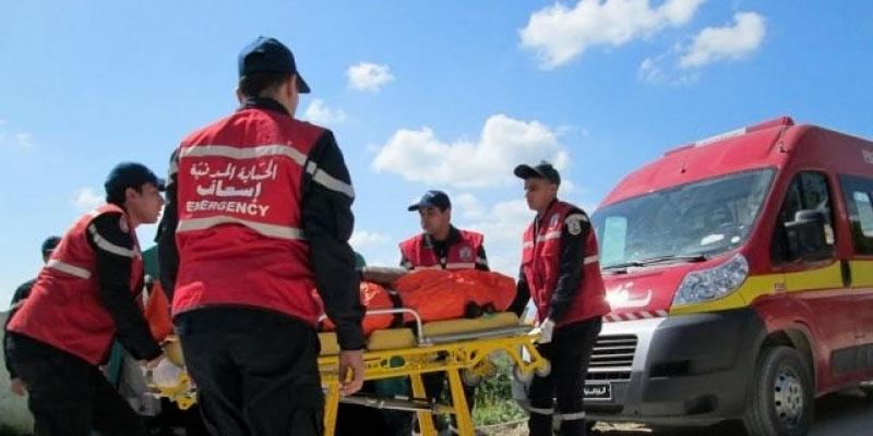 Accident à Kairouan, un agent sécuritaire mort et 6 autres blessés