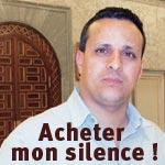 A. Massoudi : Pour acheter mon silence on m'a proposé des postes de responsabilités