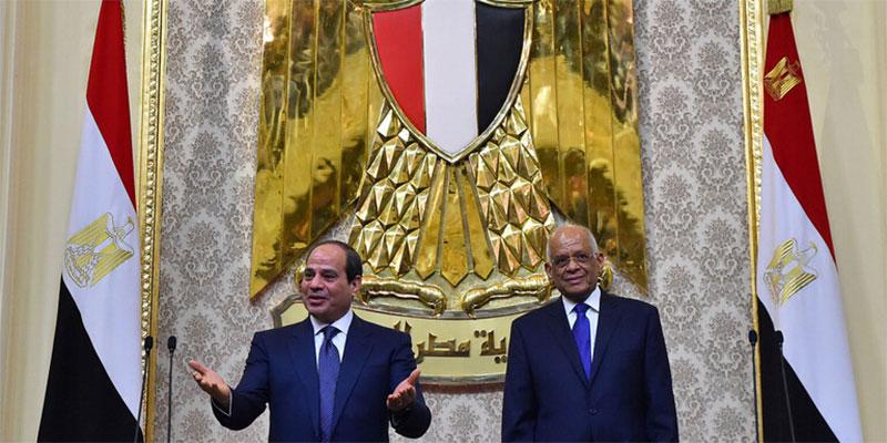 رئيس البرلمان المصري يرد على ''تشبيهه '' للسيسي بهتلر