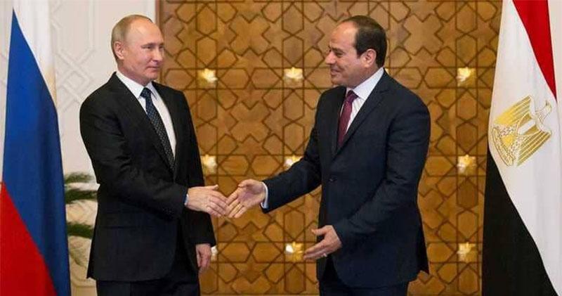 السيسي وبوتين يشهدان التوقيع على عقد إنشاء أول محطة نووية لإنتاج الكهرباء في مصر