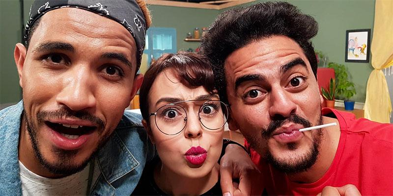 En photos : Découvrez les coulisses de la sitcom Mraweb & Nsoura