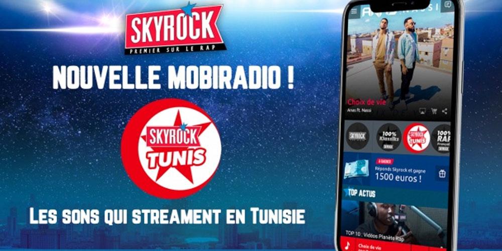 Lancement de Skyrock Tunis, la nouvelle Mobiradio
