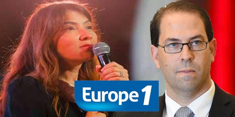 Salwa Smaoui sur Europe 1 : Oui, j'accuse Youssef Chahed