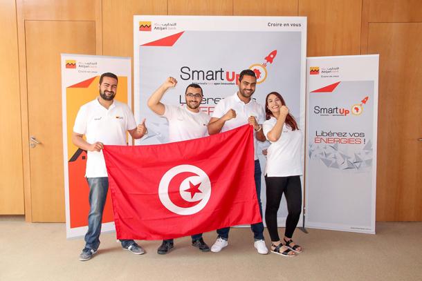 Deux équipes tunisiennes se distinguent au niveau de la finale internationale du Hackathon ''Smart Up''