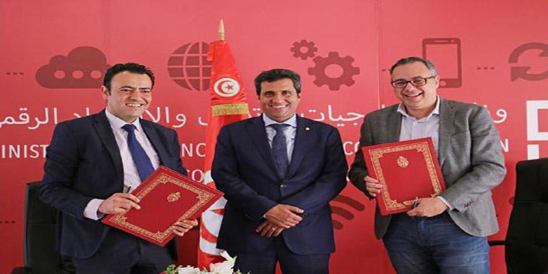 La Technopole de Sfax signe un accord avec SMART Tunisia pour la promotion de l'investissement, le développement de l'image innovante des entreprises tunisiennes, l'entrepreneuriat, la création de l'emploi et de l'employabilité.