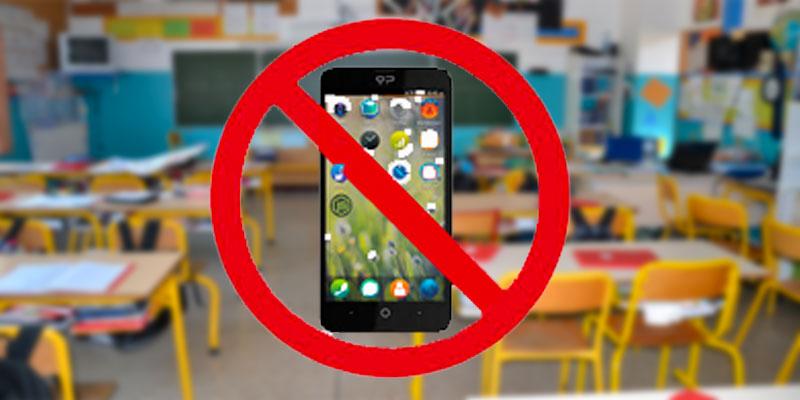 Les smartphones interdits dans les établissements éducatifs, les jardins d'enfants et les garderies scolaires