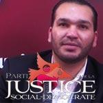 Amine Manai présente le Parti pour la Justice Social-Démocrate