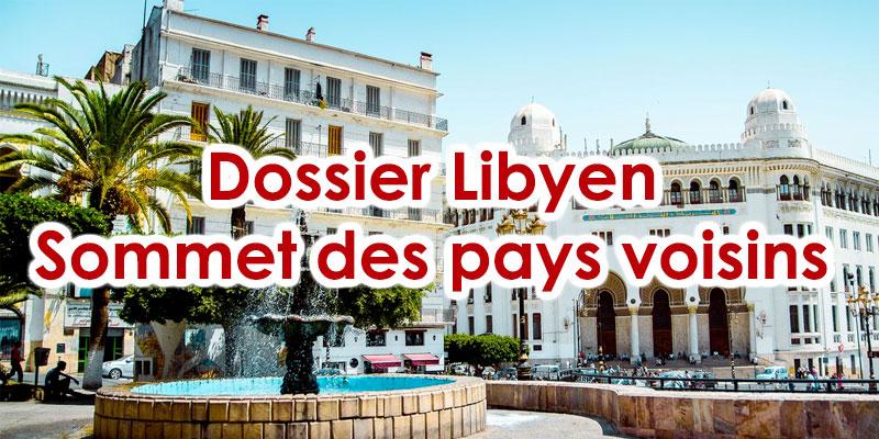 La Tunisie sera présente demain en Algérie pour traiter le dossier libyen