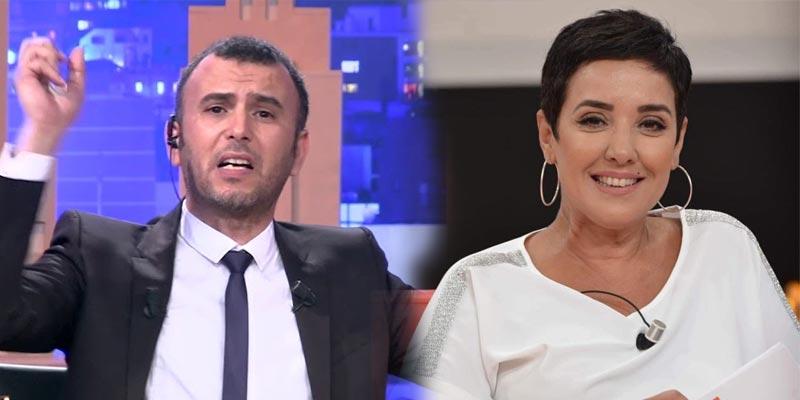 بالفيديو..سنية الدهماني للطفي العبدلي: ''سامي الفهري مش باش يجاوبك''