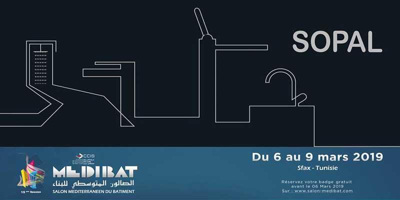 SOPAL expose au Salon MEDIBAT 2019 du 06 au 09 Mars