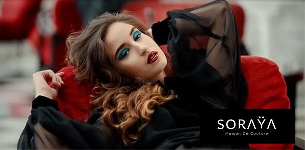 En vidéo : Découvrez l'univers de SORAŸA Maison de Couture...