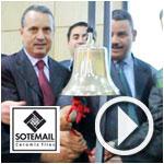 En vidéo : Introduction en Bourse Sotemail, cérémonie de 1ère cotation