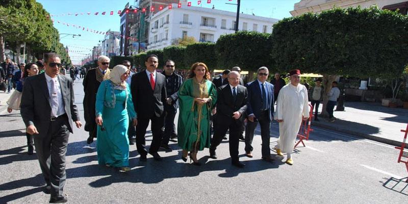 بالصور: رئيسة بلدية تونس تشرف على خرجة تونسية وعلى معرض للصناعات التقليدية بالعاصمة