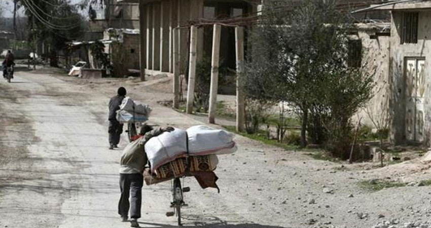 روسيا وفرنسا تنفذان أول عملية إنسانية مشتركة في سورية<