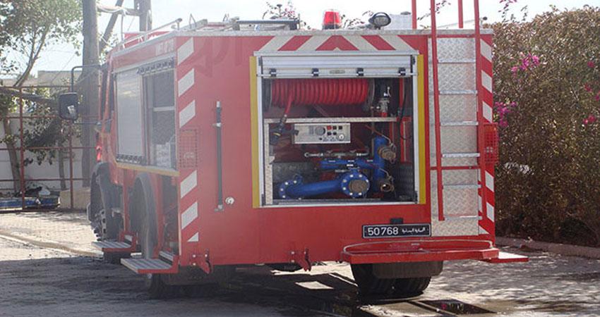 السيطرة على حريق اندلع بمصنع قطن في سوسة