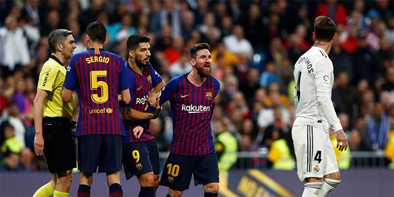 تأجيل مباراة ريال مدريد وبرشلونة لدواع أمنية